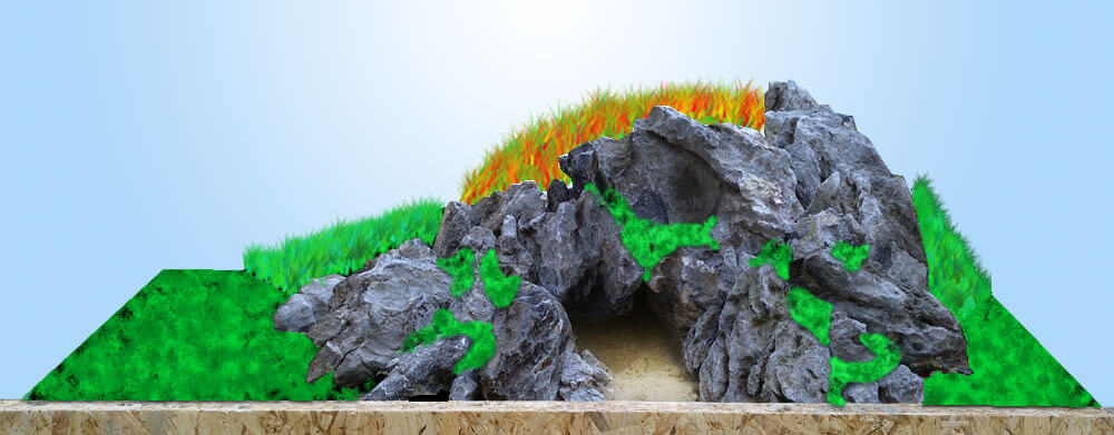 Scaping D – Cave in the hill