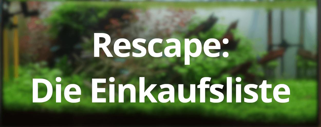 Take it easy – Einkaufsliste